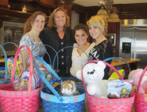 Two Teenagers Help SSFL Fill Easter Baskets
