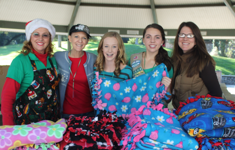 girl scouts blankets